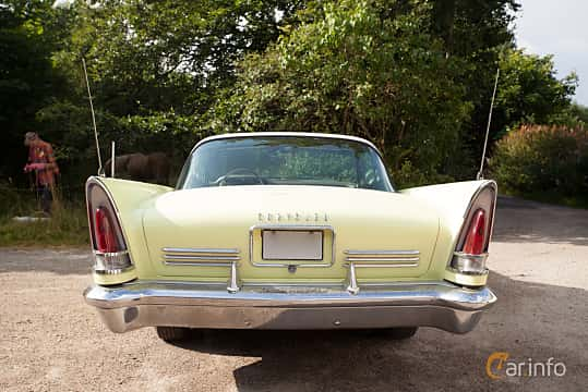 Bak av Chrysler Saratoga 2-door Hardtop 5.8 Automatic, 314ps, 1958