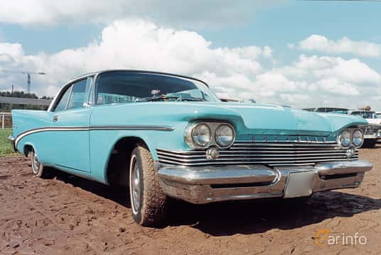 Fram/Sida av Chrysler Saratoga 2-door Hardtop 6.3 Automatic, 330ps, 1959