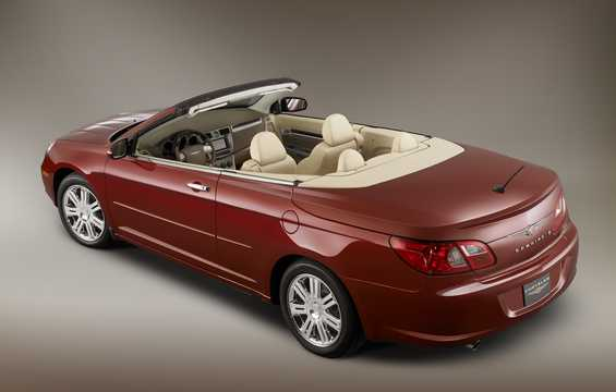 Back/Side of Chrysler Sebring Convertible 2.4 World Automatic, 175hp, 2008