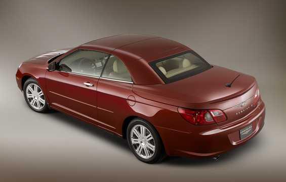 Back/Side of Chrysler Sebring Convertible 2.4 World Automatic, 175hp, 2008
