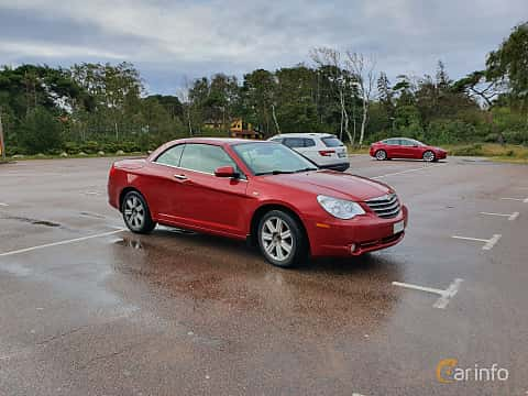 Front/Side  of Chrysler Sebring Convertible 3.5 Automatic, 238ps, 2010