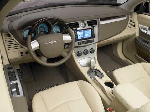 Interior of Chrysler Sebring Convertible 2.4 World Automatic, 175hp, 2008