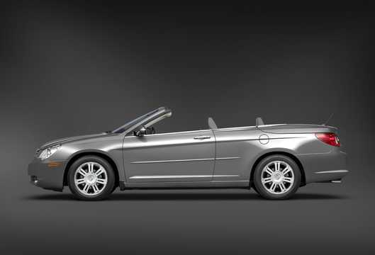Side  of Chrysler Sebring Convertible 2.4 World Automatic, 175hp, 2008