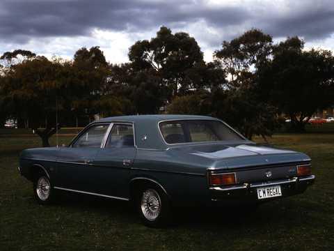Back/Side of Chrysler Valiant Sedan 1979