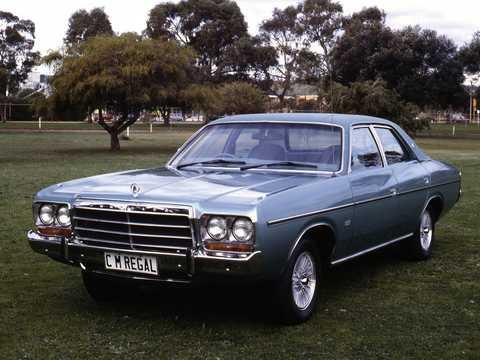 Front/Side  of Chrysler Valiant Sedan 1979