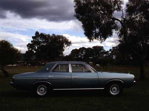 Side  of Chrysler Valiant Sedan 1979
