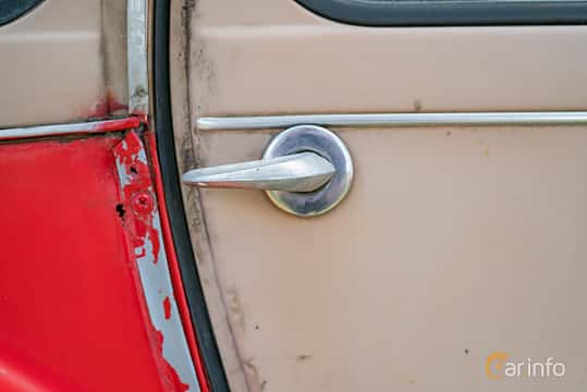 Close-up of Citroën 2CV 0.6 Manual, 29ps, 1983 at Fest För Franska Fordon  på Taxinge slott 2019