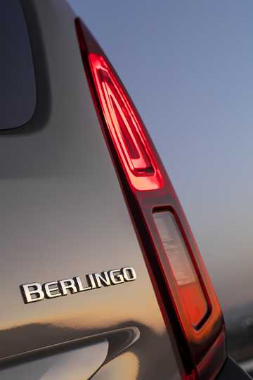 Close-up of Citroën Berlingo Multispace 2018