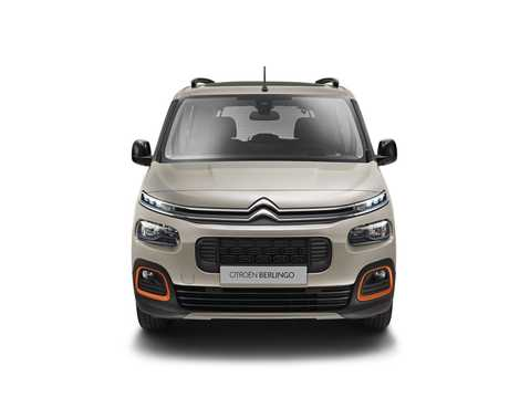 Front  of Citroën Berlingo Multispace 2018
