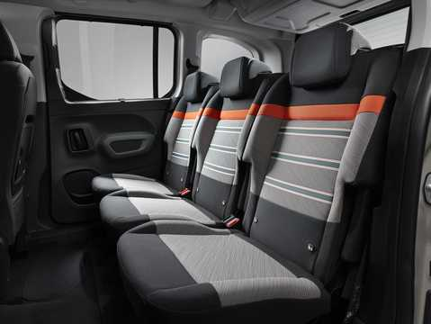 Interior of Citroën Berlingo Multispace 2018