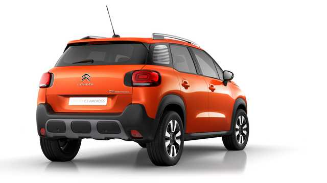 Back/Side of Citroën C3 Aircross 2018