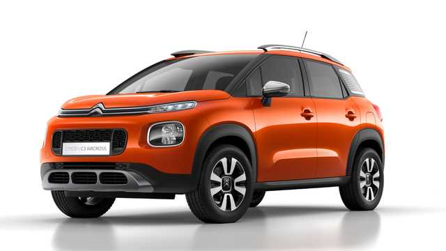 Front/Side  of Citroën C3 Aircross 2018
