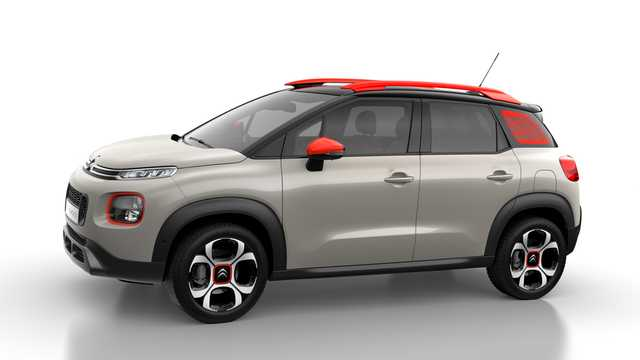 Side  of Citroën C3 Aircross 2018