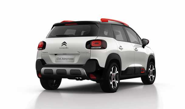 Back/Side of Citroën C4 Aircross 2018
