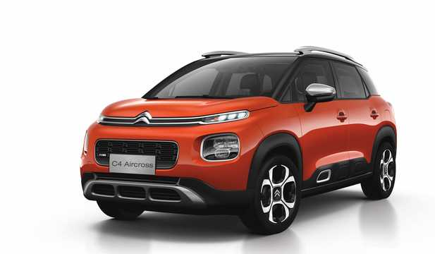 Front/Side  of Citroën C4 Aircross 2018