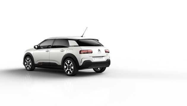 Back/Side of Citroën C4 Cactus 2018