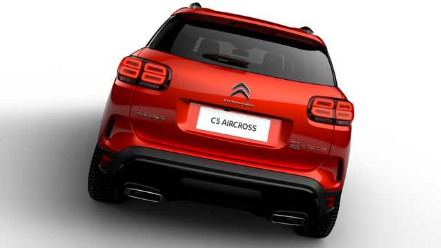 Back of Citroën C5 Aircross 1st Generation