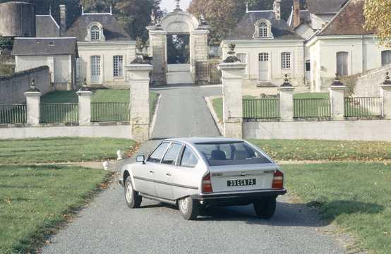 Back/Side of Citroën CX 20 2.0 Manual, 102hp, 1983