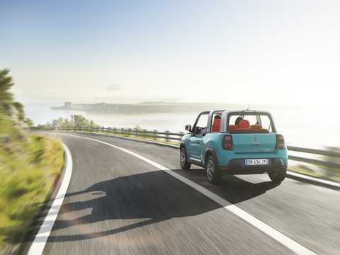 Back/Side of Citroën e-Méhari 30 kWh Single Speed, 68hp, 2017