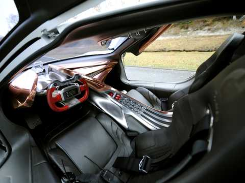 Interior of Citroën GT by Citroen Fuel Cell 4WD Sequential, 803hp, 2008