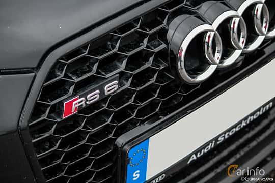 Close-up of Audi RS 6 Avant 4.0 TFSI V8 quattro TipTronic, 560ps, 2013