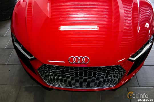 Close-up of Audi R8 Coupé 2016