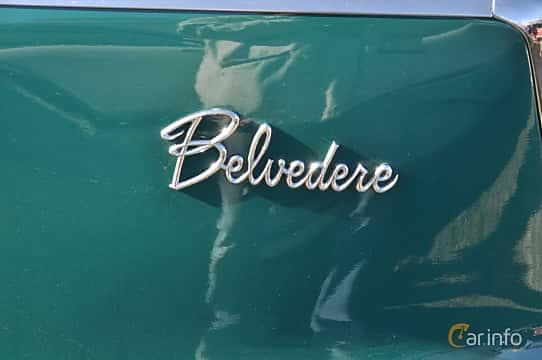 Close-up of Plymouth Belvedere 4-door Sedan 5.2 V8 TorqueFlite, 233ps, 1959