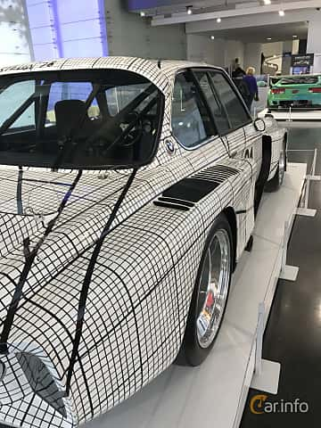 Närbild av BMW 3.0 CSL Group 5  Manual, 487ps, 1976