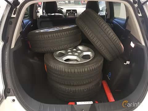 Närbild av Nissan Leaf 30 kWh Single Speed, 109ps, 2017
