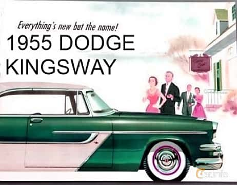 Close-up of Dodge Kingsway