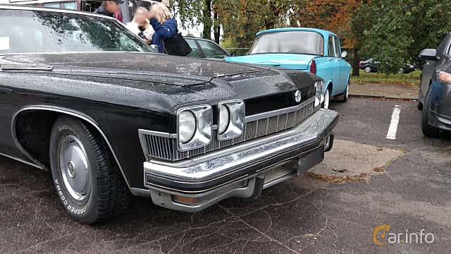 Close-up of Buick LeSabre Hardtop Sedan 1974 at Old Car Land no.2 2018