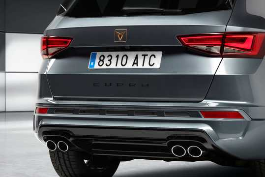 Close-up of Cupra Ateca 2.0 TSI 4Drive DSG Sequential, 300hp, 2018