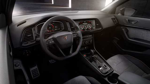 Interior of Cupra Ateca 2.0 TSI 4Drive DSG Sequential, 300hp, 2018