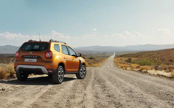 Back/Side of Dacia Duster 2018
