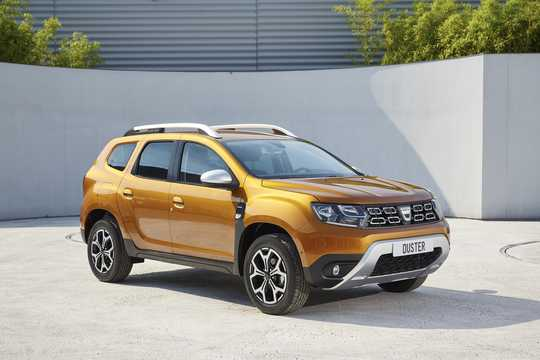 Front/Side  of Dacia Duster 2018