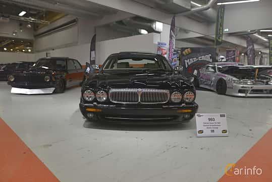 Front  of Daimler Super V8 4.0 V8 Automatic, 363ps, 1999 at Bilsport Performance & Custom Motor Show 2019