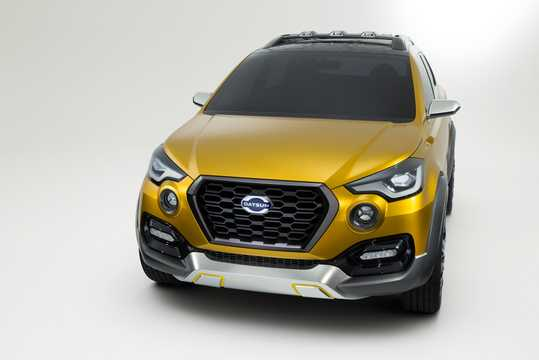 Front/Side  of Datsun Go-Cross Concept Concept, 2015