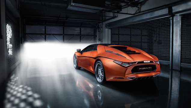 Back/Side of DC Design Avanti 2.0 Manual, 254hp, 2016