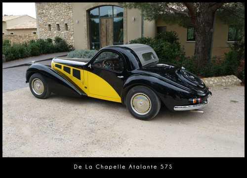 Back/Side of De La Chapelle Atalante 57S