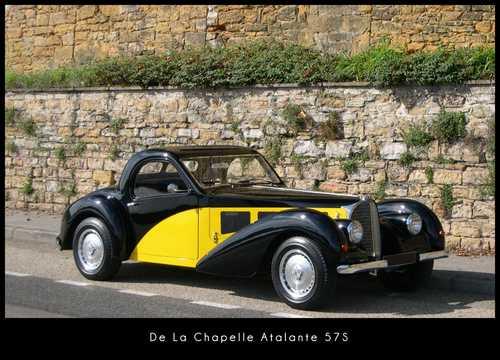 Front/Side  of De La Chapelle Atalante 57S