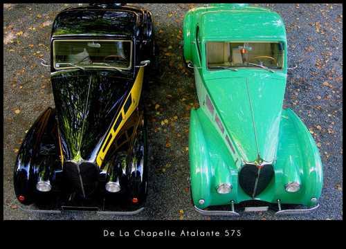 Top  of De La Chapelle Atalante 57S