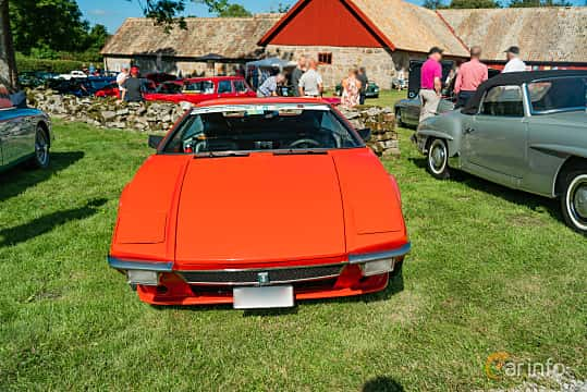 Front  of De Tomaso Pantera 5.8 V8 Manual, 314ps, 1972 at Sportbilsklassiker Stockamöllan 2019