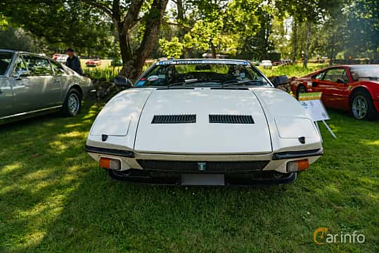 Front  of De Tomaso Pantera GTS 5.8 V8 Manual, 270ps, 1975 at Sportbilsklassiker Stockamöllan 2019