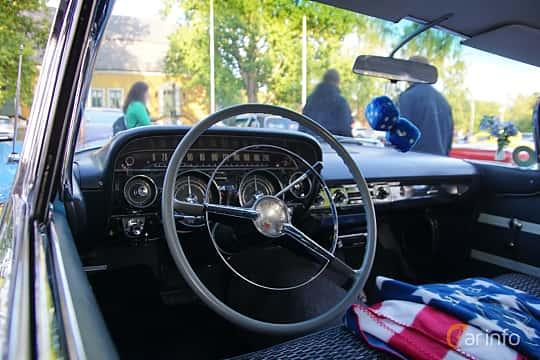 Interior of Buick Le Sabre 2-door Hardtop 6.0 V8 Automatic, 305ps, 1959 at Onsdagsträffar på Gammlia v.33 / 2018