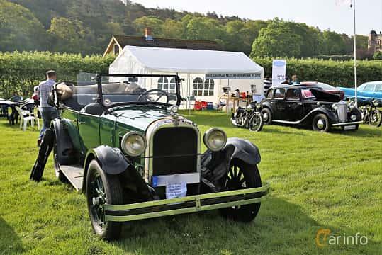 Fram/Sida av Dodge 126 Touring 3.5 Manual, 35ps, 1926 på Tjolöholm Classic Motor 2019