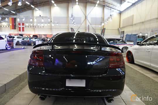 Bak av Dodge Charger SRT-8 6.1 V8 HEMI Automatic, 431ps, 2006 på Bilsport Performance & Custom Motor Show 2019