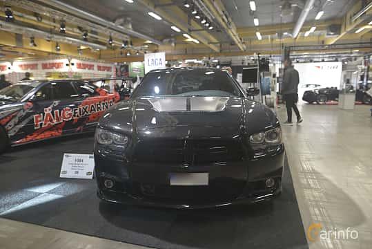 Front  of Dodge Charger SRT-8 6.4 V8 HEMI TorqueFlite, 476ps, 2013 at Bilsport Performance & Custom Motor Show 2019