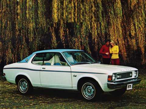Front/Side  of Dodge Colt Carousel 1.6 Manual, 80hp, 1975
