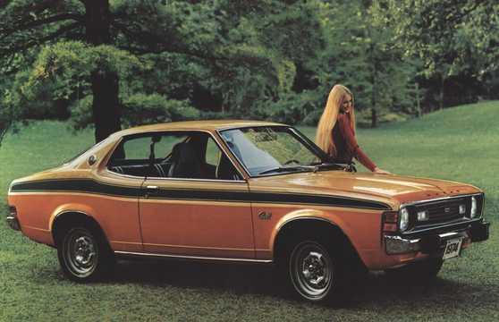 Front/Side  of Dodge Colt GT 2.0 Manual, 98hp, 1974