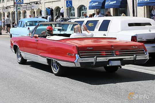 Back/Side of Dodge Monaco Convertible 5.2 V8 TorqueFlite, 234ps, 1968 at Cruising Lysekil 2019